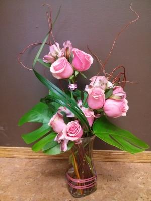 rose, vase, bouquet, mothers, lumsden, regina, flowers