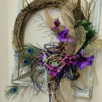 wreath, door decor, door dressing, lumsden, regina, craven, regina beach, buena vista