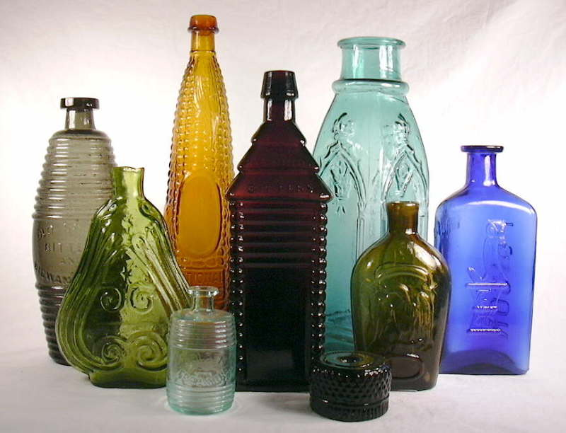 Antique bottles 5 @ diggerzone.com