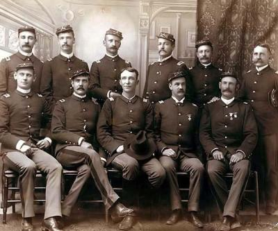 Officers of the Seventh Cav