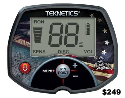 Teknetics Minuteman metal detector