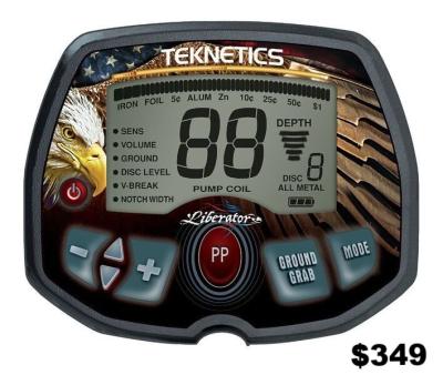 Teknetics Liberator metal detector