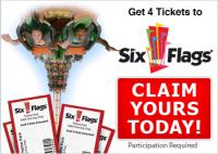 Amusement parks six flags