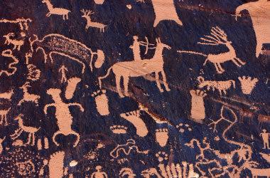 Petroglyphs, Newspaper rock