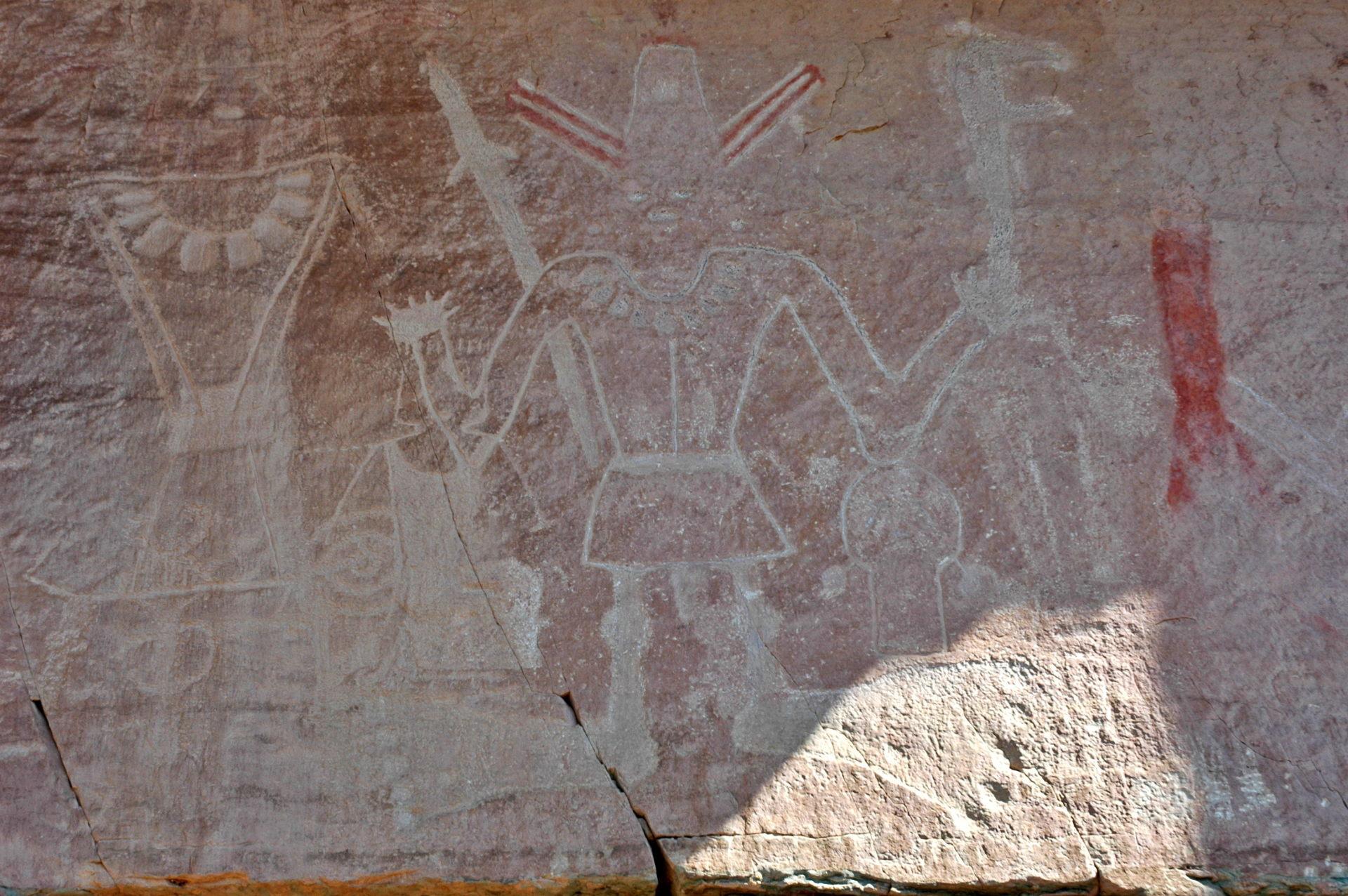 Bigfoot, petroglyphs, utah pertoglyphs