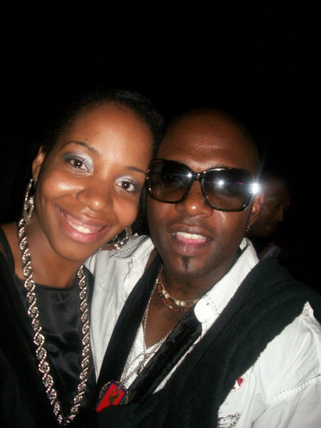 Nia with Trech (Naughty By Nature) Legends of Hip Hop Tour