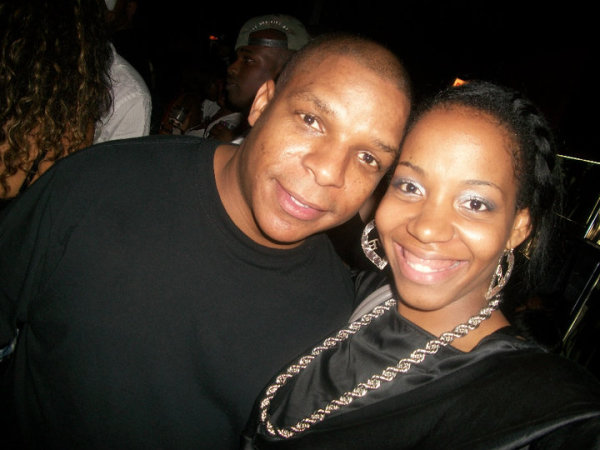 Nia with Vin Rock(Naughty By Nature) Legends of Hip Hop Tour