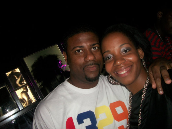 Nia with DJ Kay Gee (Naughty By Nature) Legends of Hip Hop Tour