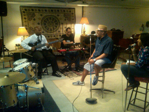 Rehearsal with Christopher Williams, Chicago, IL