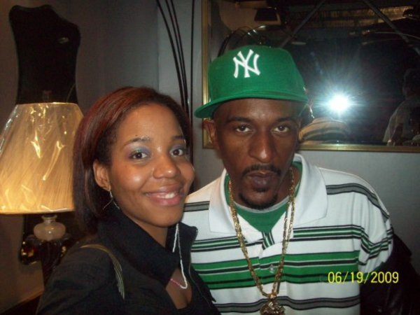 Nia with Rakim (Legends of Hip Hop Tour)