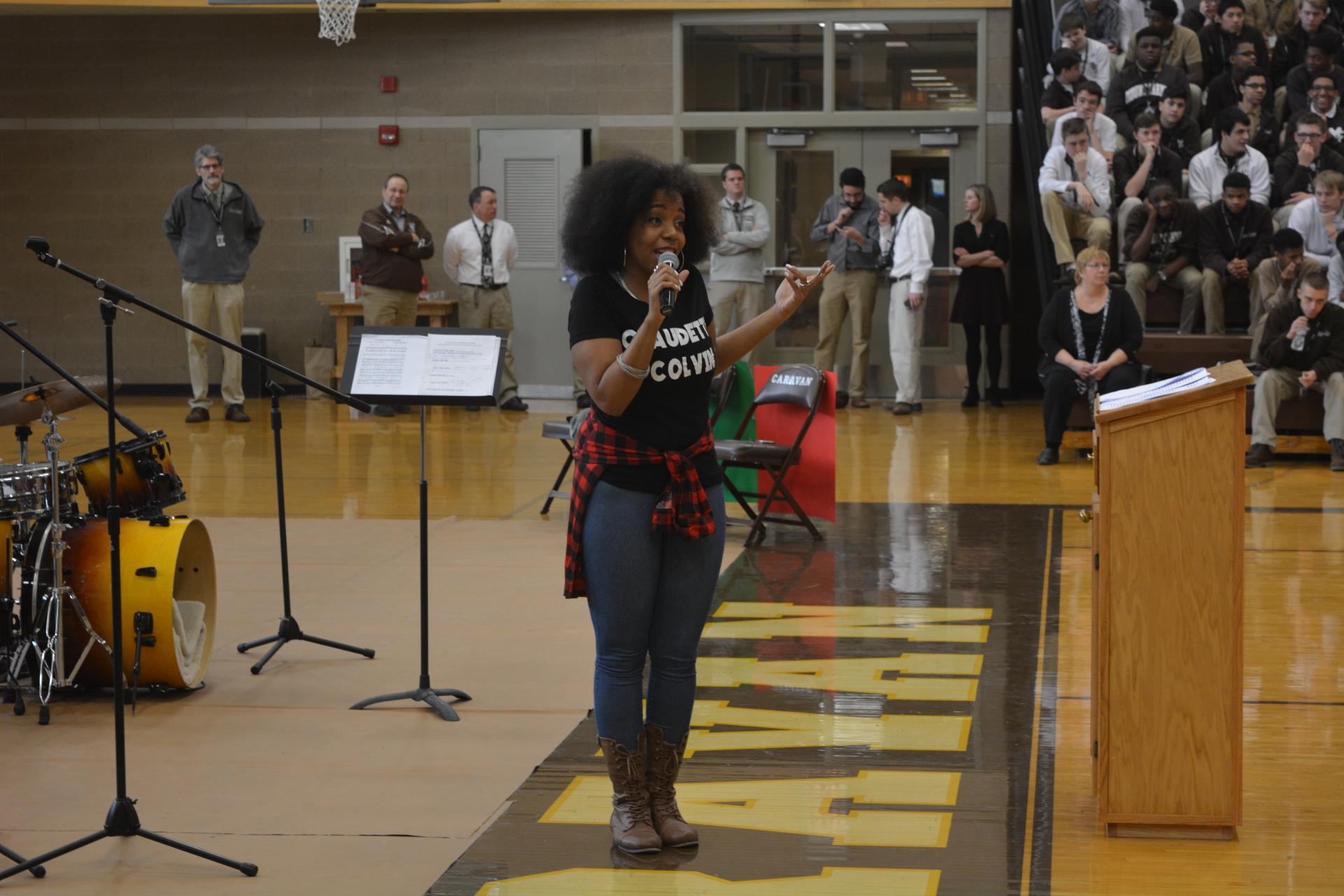 Mt. Carmel HS Black History Assembly