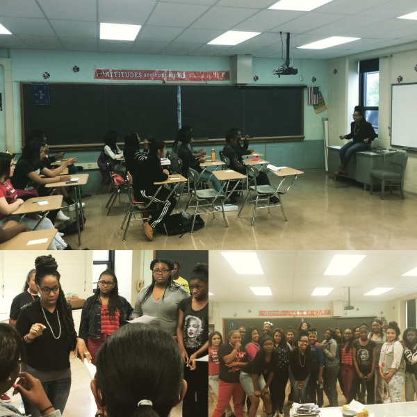 Mentoring Session at Thornton HS