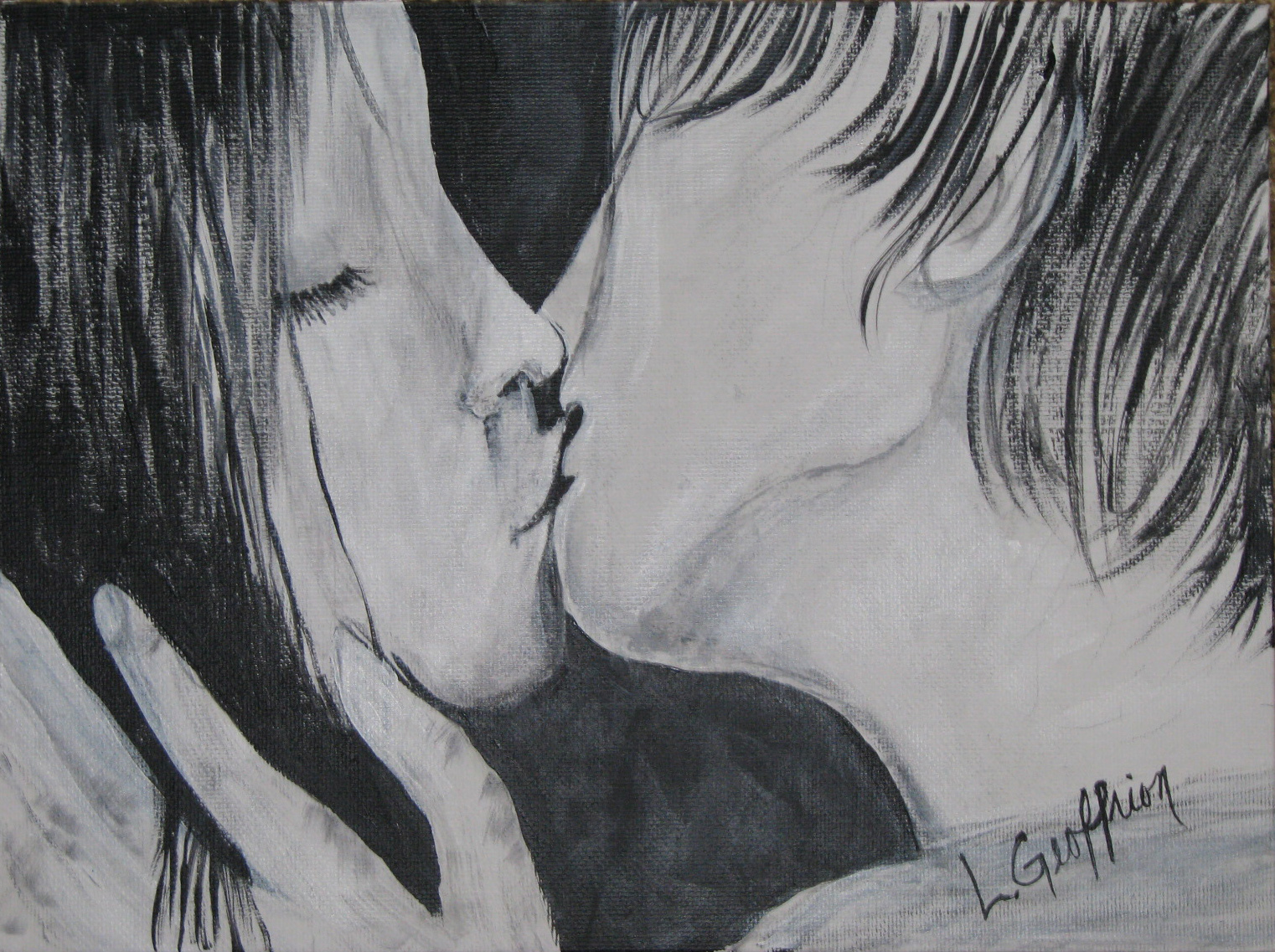 Lovers Kissing $50