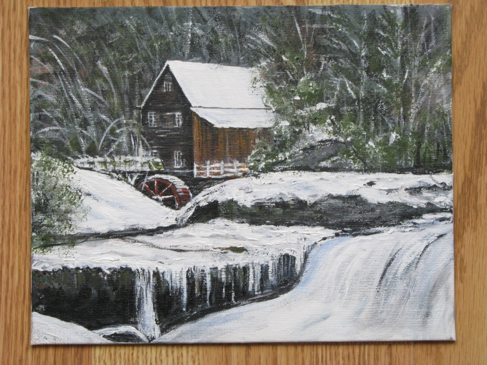 Mill in Winter (Sold)