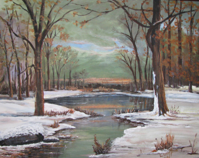 Winter Stream $225