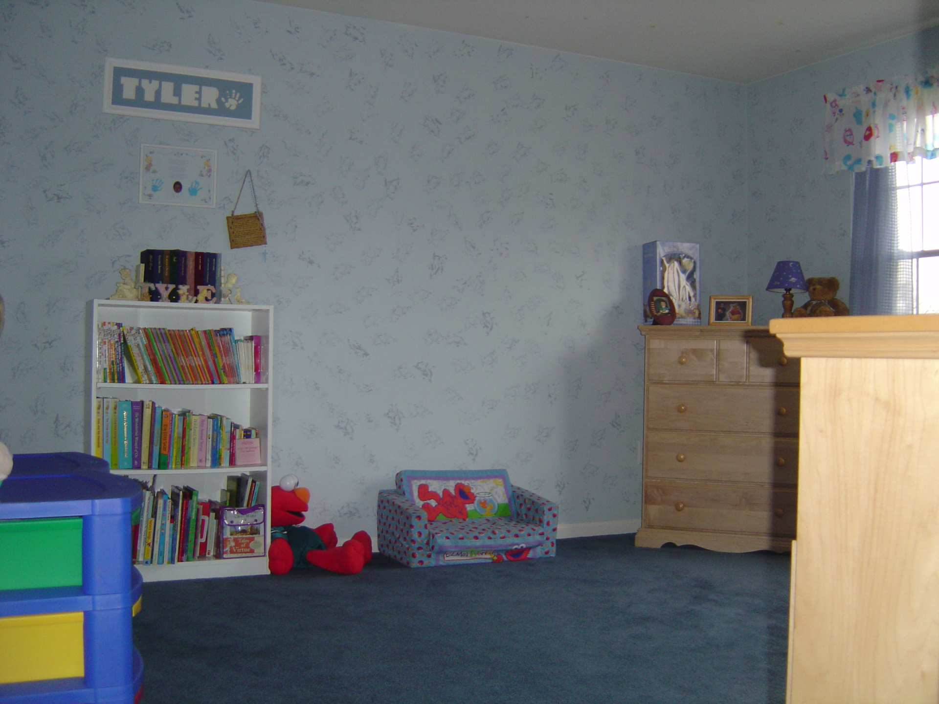 BEFORE - ReDesign & Decorating - Children's Bedroom