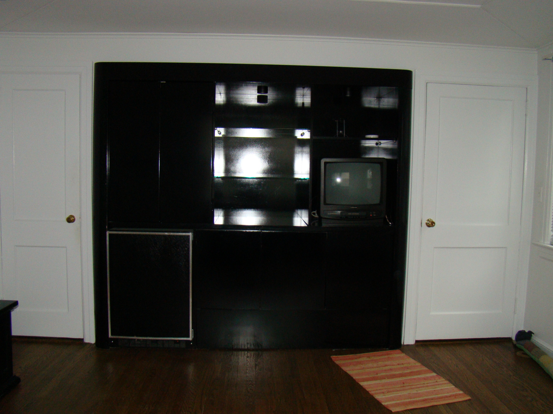 BEFORE - Basic Vacant Staging