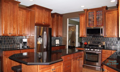 AFTER - Kitchen Interior Design - Mansfield NJ