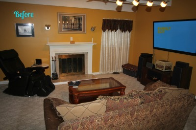 BEFORE -  Staging - Mount Laurel, NJ