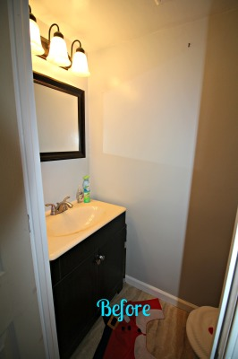BEFORE - Half Bath ReDesign & Occupied Staging - Sicklerville, NJ