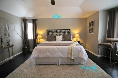 AFTER - Master Bedroom Design, Staging, Organizing & Decorating