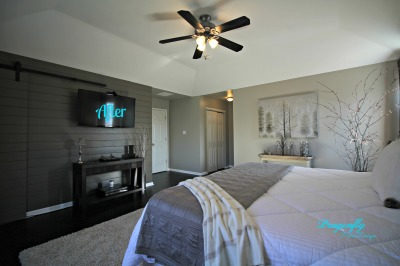 AFTER - Master Bedroom Re-Design Project - February, 2017