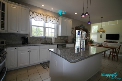 AFTER:  Allentown, NJ - Kitchen - Interior Design & Re-Design