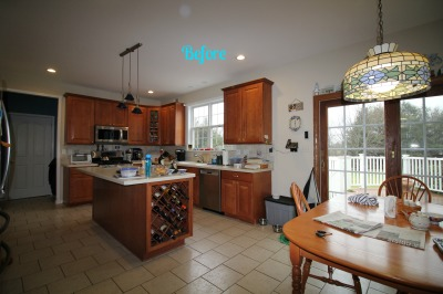 BEFORE: Allentown, NJ - Kitchen - Interior Design