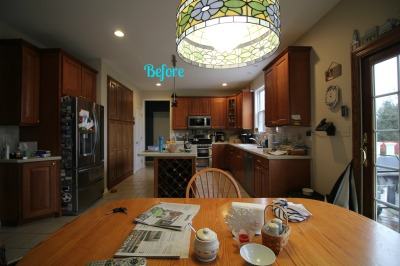 BEFORE: Allentown, NJ - Kitchen Interior Design Project
