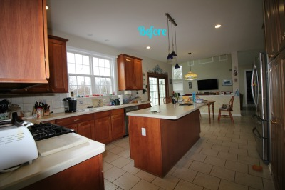 BEFORE:  Allentown, NJ - Kitchen - Interior Design & Re-Design