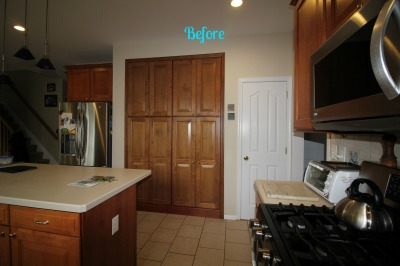 BEFORE:  Allentown, NJ - Kitchen Interior Design