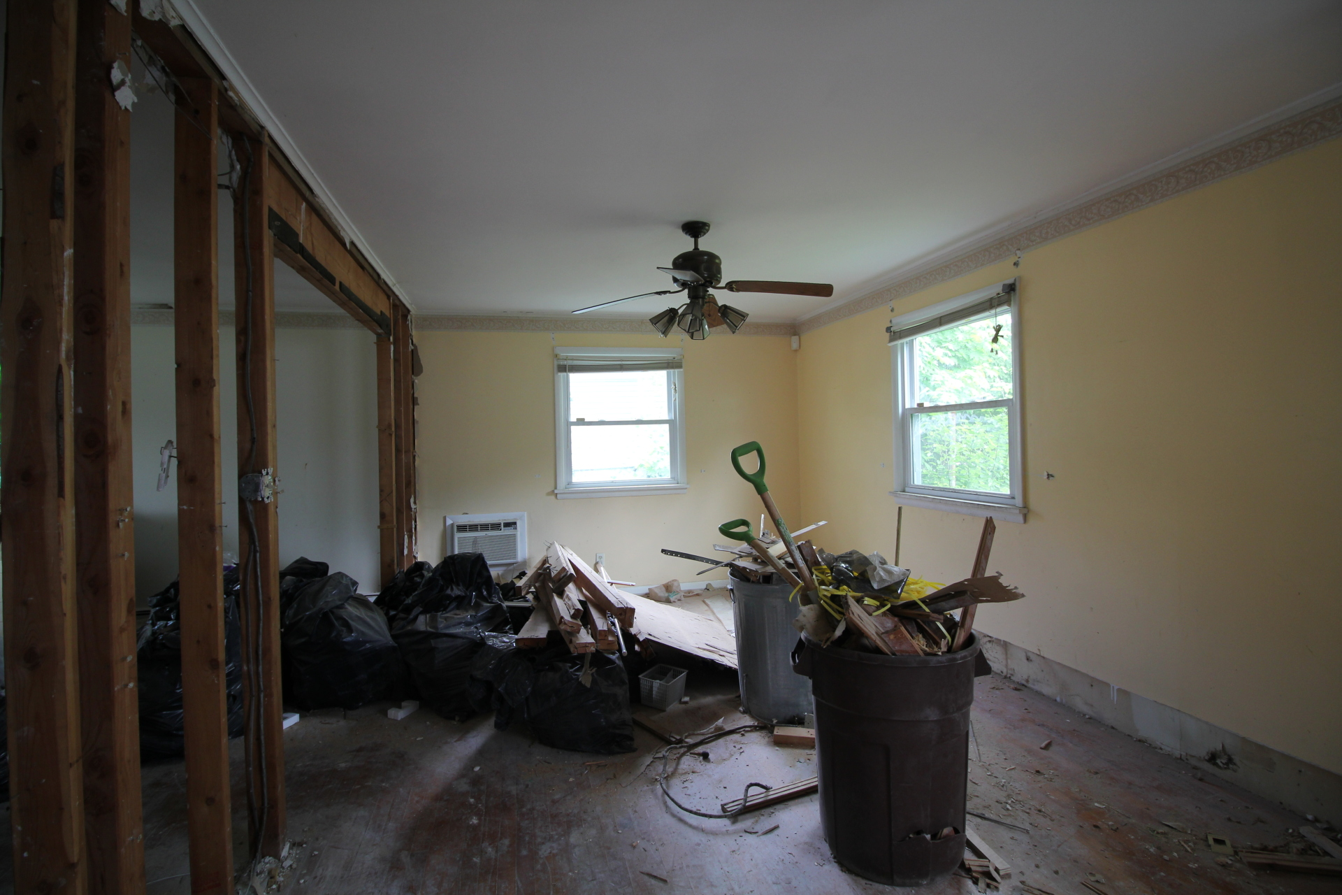 BEFORE - Vacant Staging & Design