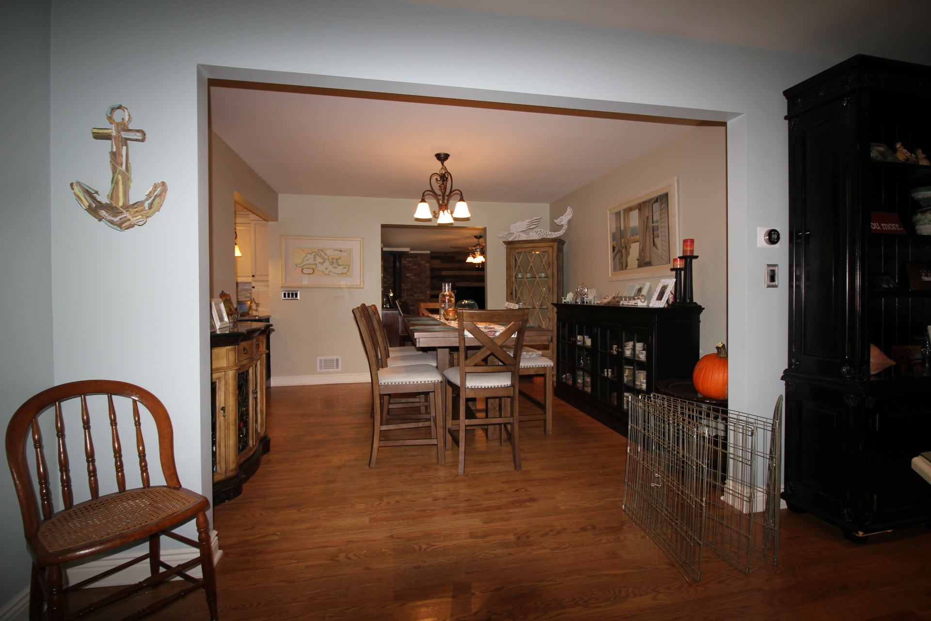 BEFORE - Occupied Staging - Oceanport, NJ