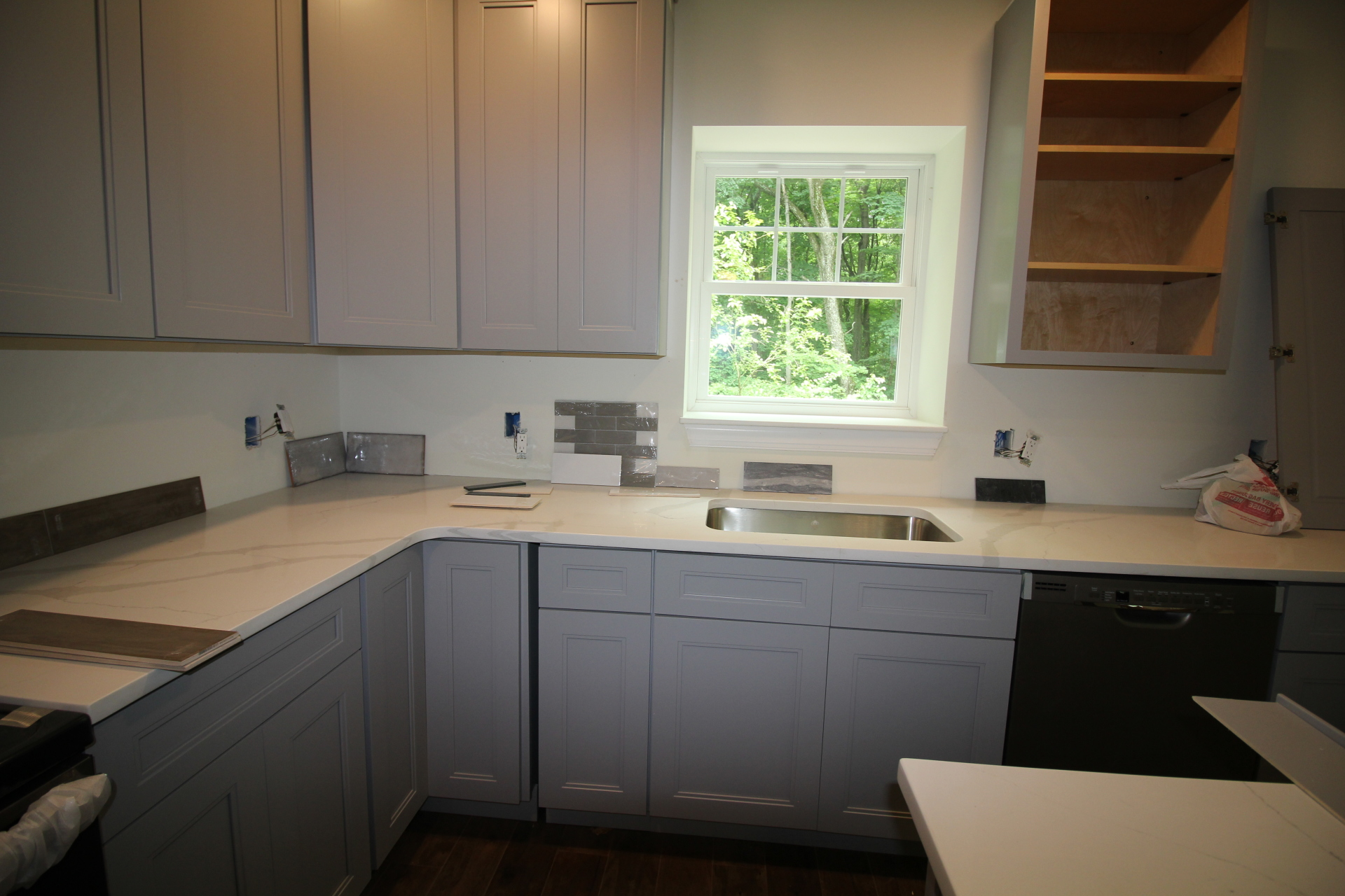 DURING - Interior Design Process - Hopewell, NJ