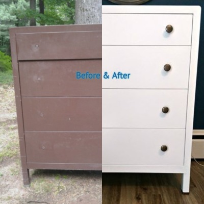 Before & After Dresser