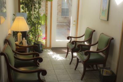The waiting room at the Counseling Room