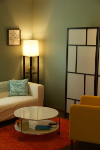 Inside the office at the Counseling Room, located at 740 Burbank Street, Broomfield, CO