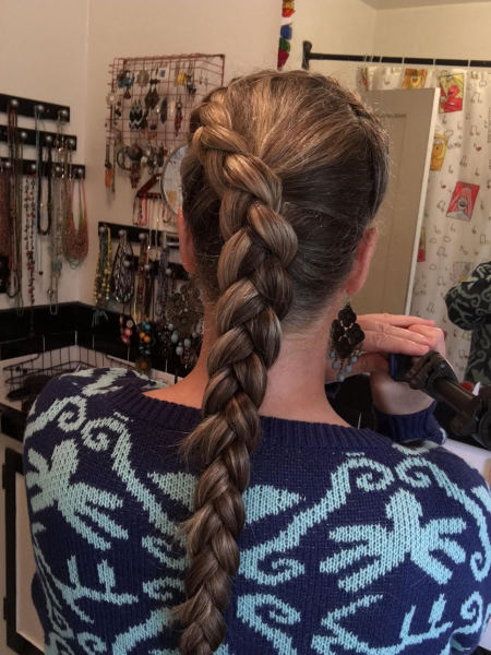 Around-the-Side Braid