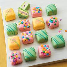 Tiny cakes $1.85 e.