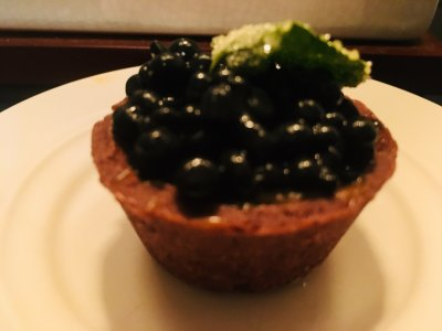 Chocolate Caviar Tartlet $4.25 e.
