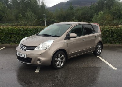 £SOLD Nissan Note 1.5DCi N-Tec 5 Door 58,181 Miles