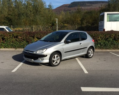 £SOLD Peugeot 206 1.6 XSi 3 Door 120,082 Miles