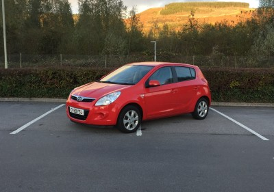 £12/week £2,000 Hyundai I20 1.5CRDi Comfort 5 Door 130,555 Miles