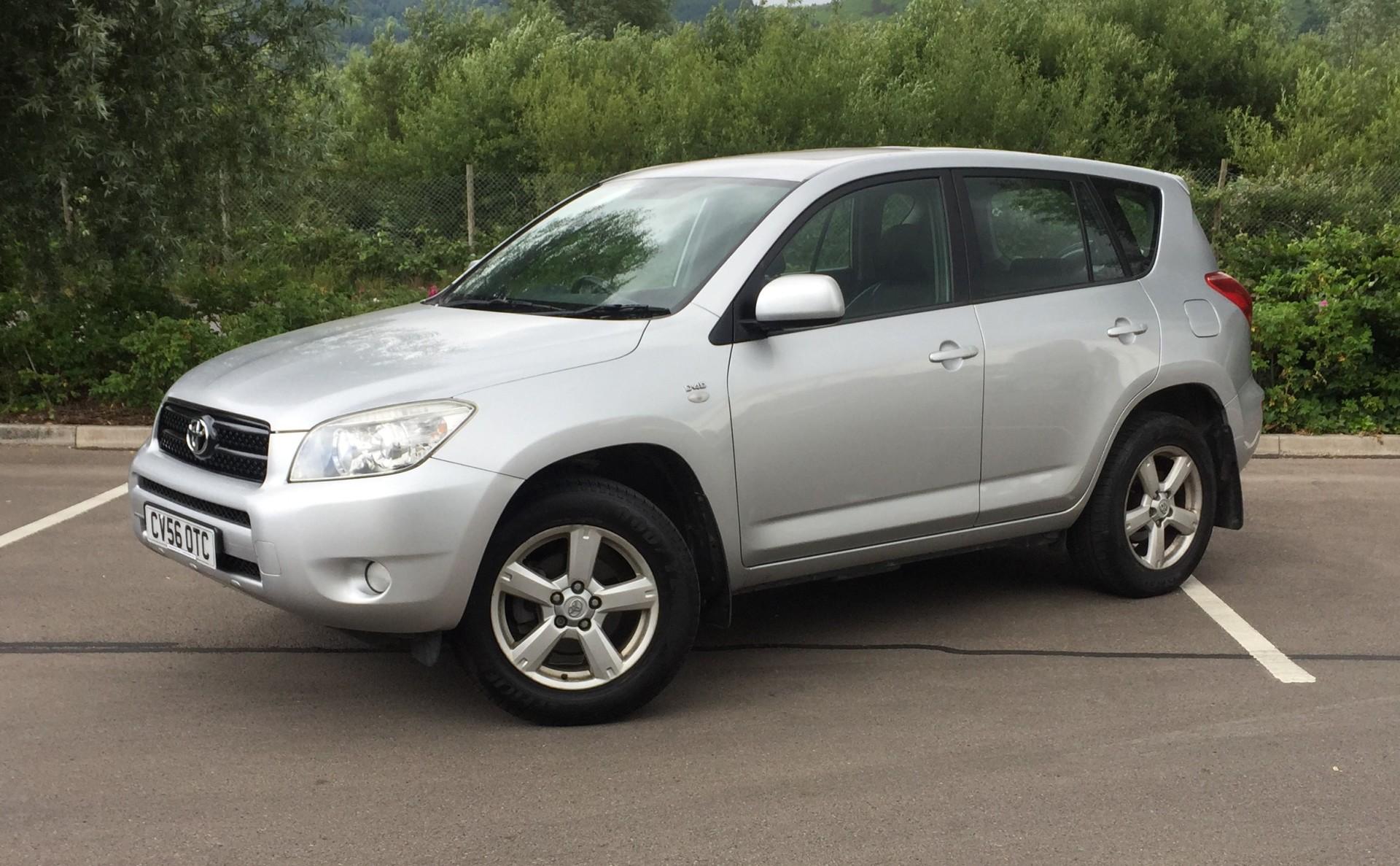 £23/week £4,495 Toyota RAV-4 2.2 D-4D XT4 5 Door 86,562 Miles