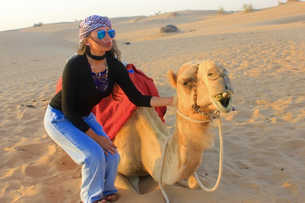 Girl Meets Dubai Desert