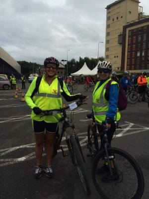 Manchester to Blackpool bike ride