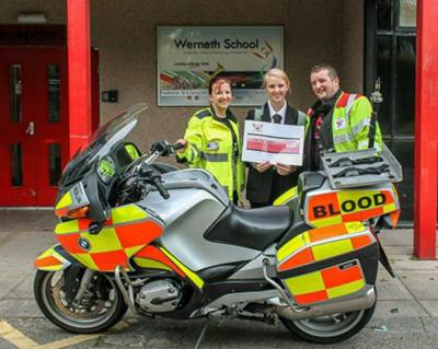£1000 for Blood Bikes