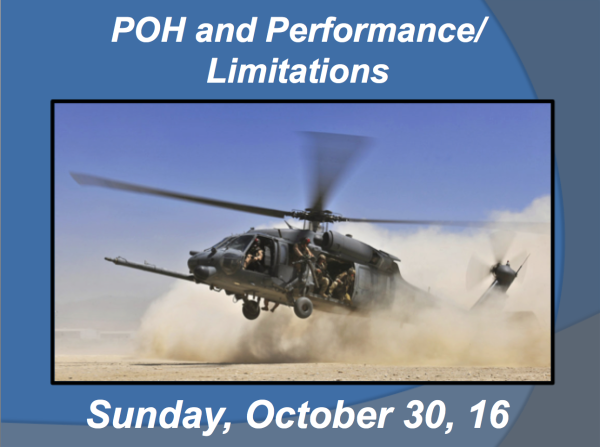 POH/Performance & Limitations