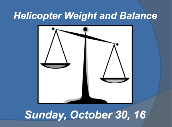 Weight and Balance