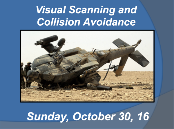 Visual Scanning and Collision Avoidance